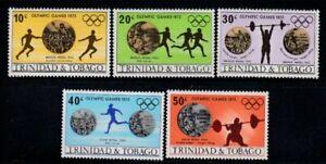 TRINIDAD & TOBAGO 20th Summer Olympic Games, Munich MNH set