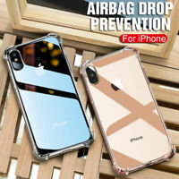 Case for iPhone 6s 7 8 XR XS 11 5 ShockProof Soft Phone Cover TPU Silicone Cover
