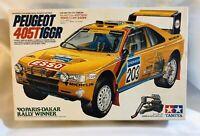 Tamiya 1/24 Peugeot 405T 16GR '90 Paris-Dakar Rally Ganador Steal