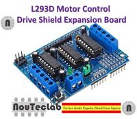 L293D Motor Drive Shield Expansion Board for Arduino Duemilanove UNO Mega