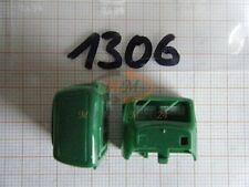 10x ALBEDO Ersatzteil Ladegut Fahrerhaus-Oberteil alt grün unverbaut 1:87 - 1306