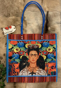Frida Kahlo Morral Mercado Market Bag Mexican Tote Bag