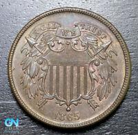 1865 2 Cent Piece  --  MAKE US AN OFFER!  #B3239