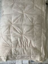 """$159 Pottery Barn Kids Monique Lhuillier Ethereal Lace Toddler Quilt Mono """"Anna�"""
