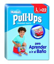 Huggies Pull-Ups Garçon Taille 6/Large (16-23 kg), Couche-Culotte d'Apprentissag
