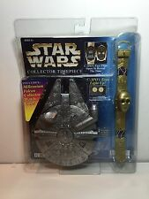Star Wars C-3PO Collector Timepiece Watch With Millennium Falcon Watch Case New
