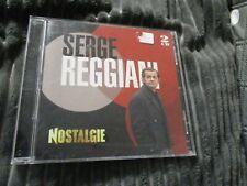 "COFFRET 2 CD ""SERGE REGGIANI : BEST OF NOSTALGIE"""