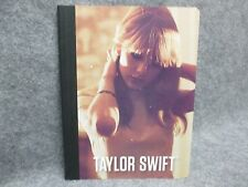 "Taylor Swift Official Composition Book Intimate Portrait 7.5"" x 9.75"" 2012 NEW"