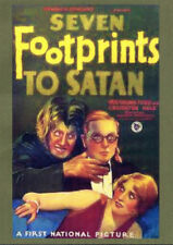 SEVEN FOOTPRINTS TO SATAN IN ENGLISH DVD AWESOME!!!! LONG THOUGHT LOST!