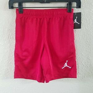 Nike Michael Jordan Boy 7 L Basketball Short Jumpman Athletic Gym Vented Elastic