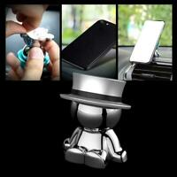Universal Magnetic Car Mount Doll Shape Cell Holder degree Phone 360 Stand D8H1