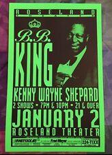 BB KING Original Concert Poster Gig Flyer Portland 2000