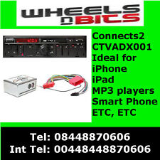 Connects 2 CTVADX001 Audi A2, A3, A4, A6, A8, TT Aux Interface Adaptateur