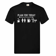 PLAN FOR TODAY Is To Be Submissive T Shirt Funny Bondage Birthday Christmas Gift