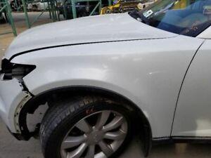 03-07 Infiniti FX35 FX45 Driver Left Fender White QX1 OEM 63101CG000