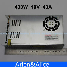 400W 10V 40A Single Output Switching power supply for LED SMPS AC to DC
