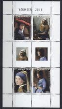 Sint Maarten 2013 - Gemälde von Jan Vermeer - Paintings Peintures - Mi. 230-33