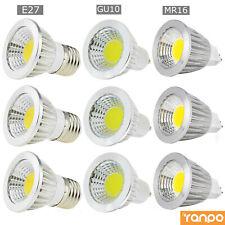 Ultra Bright MR16 GU10 E27 E14 Dimmable LED COB Spot Light Bulbs 6W 9W 12W RK