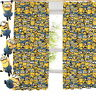 "Despicable Me Army of Minions Pencil Pleat Curtains 54"" or 72"" Drop Bedding"