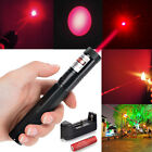 Military High Power Red Laser Pointer Pen G301 650nm Burning Lazer+18650+Charger
