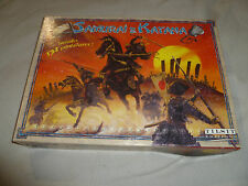SAMURAI & KATANA BOARD GAME COMPLETE IN BOX CIB TILSIT EDITIONS 2000 MINIATURES