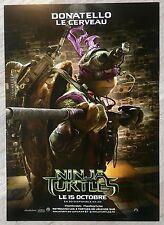 RARE AFFICHE NINJA TURTLES 3/4 avec descriptif : DONATELLO   Tortues Ninjas