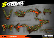 KTM EXC Dekor 125 200 250 300 350 450 500 2012 2013 grafik SCRUB Aufkleber