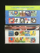 London 2012 Olympics and Paralympics - Two Royal Mail Presentation Packs