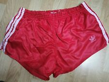 ADIDAS VINTAGE WEST GERMAN SHINY SPRINTER SHORTS M RETRO 80s