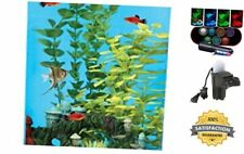 Koller Products AquaView 6-Gallon 360 Aquarium with Power Filter & Led Lighting