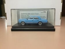 TRAX 1/43 TR80C.CHRYSLER VALIANT REGAL.LIGHT BLUE REGAL.