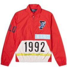 Polo Ralph Lauren Stadium 1992 Red Windbreaker Jacket Vintage CP93 HI TECH Med