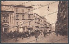 NAPOLI CITTÀ 123 Cartolina viaggiata (1922 ?)