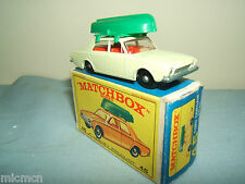 """MATCHBOX Lesney No.45b """"FORD CORSAIR e BOAT"""" VN Nuovo di zecca con scatola"""