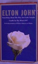 ELTON JOHN CANDLE IN THE WIND 1997 SOMETHING ABOUT...  CASSETTE TAPE