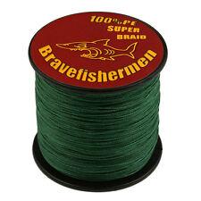 Test Moss Green 100M/300M/500M/1000M  Spectra Dyneema Braided Sea Fishing Line