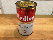 Redtop Ale (120-20) empty flat top beer can by Redtop Brewing, Cincinnati, Oh