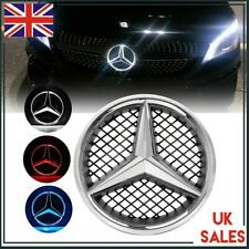 Waterproof Badge Red Light Star Logo for Mercedes Benz C Class Front Grill LED