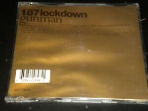 187 Lockdown - Gunman - CD Single - 1997 Warner Music UK Ltd