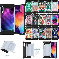 Case for [Samsung Galaxy A20 / A30], Duo Armor Shock Combat White Cover