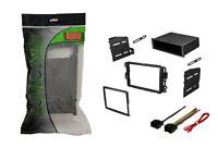 Single Din Dash Kit Stereo Radio Installation Install Kit w Wire Harness