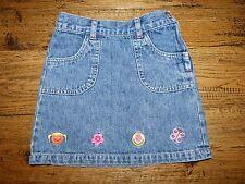 Jupe en jean délavée - H&M - 4 ans - Très bon état