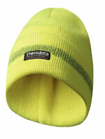 3M Thinsulate Warnschutzstrickmütze, neon gelb, Beanie, Wintermütze, warme Mütze