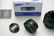 Samsung 2,4/16mm für Samsung NX, wie NEU!