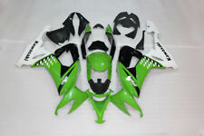 Fit for Kawasaki 2008-2010 ZX10R Green White Plastic Fairing Injection Mold k058