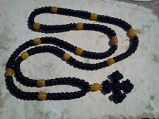 ENTIRE Rosary150 knot Jerusalem Cross Orthodox russian chotki prayer rope KOMPUS