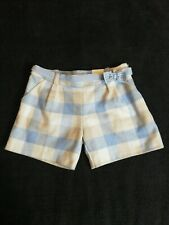 Girls Mayoral checked Shorts Age 9