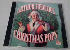Arthur Fiedler Christmas Pops CD Time Life Music Boston Pops 1992 BMG Nutcracker