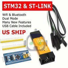 STM32F103C8T6 ARM STM32 Dev Development Board Module Blue Pill w/ ST-Link V2 USA