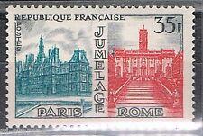 1958 Frankrijk 1212 Jumelage Parijs Rome
